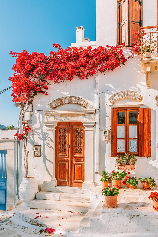 Village on Tinos Island, Greece