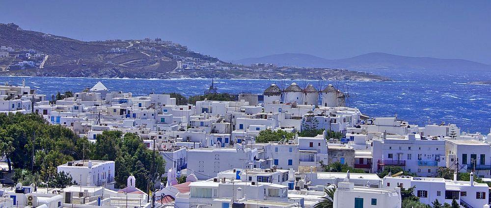 Mykonos Cityscape
