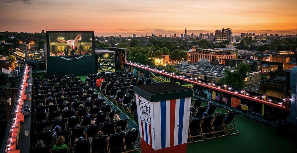 Rooftop Cinema in London