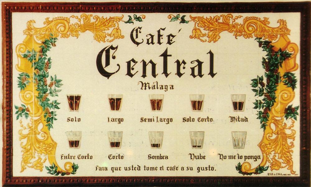 Coffee Types in Malaga