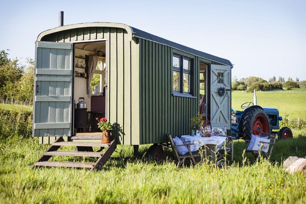 The Strawberry Shepherds Hut