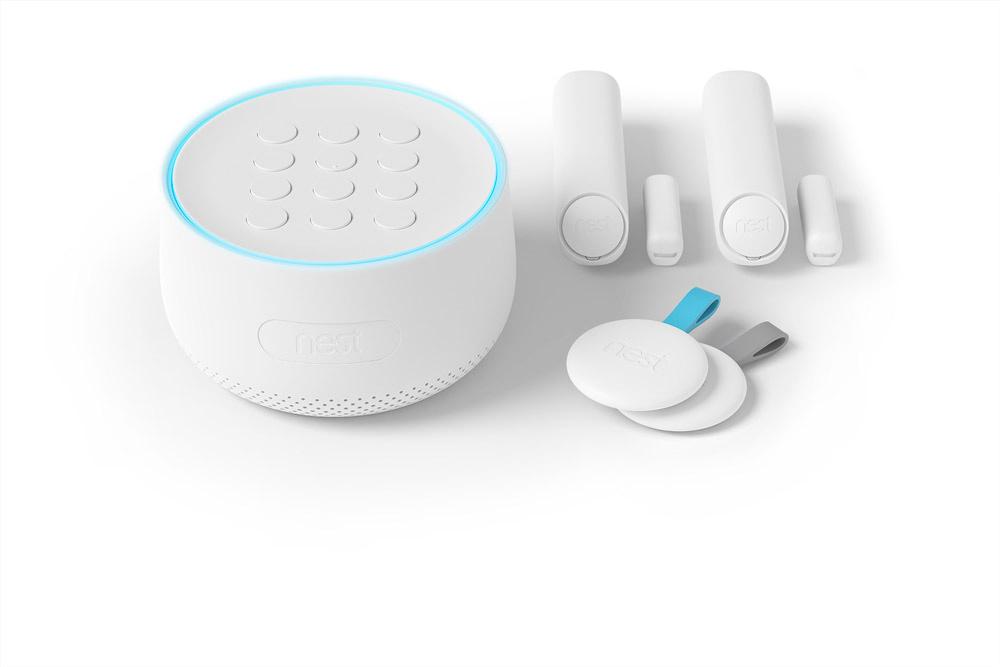 Nest alarm system