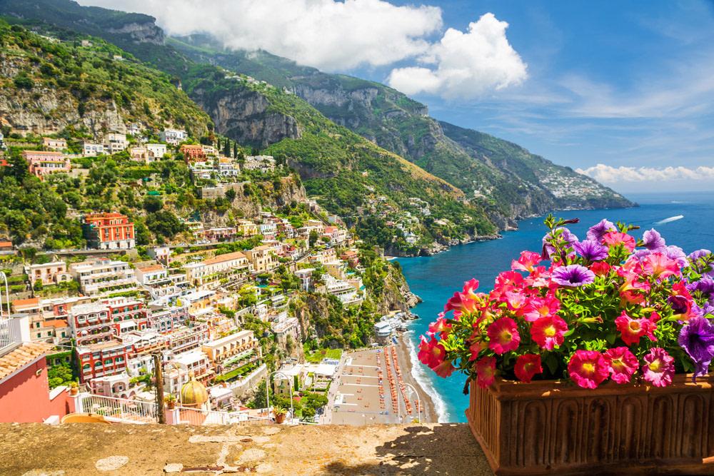 Positano, most beautiful place on the Amalfi coast