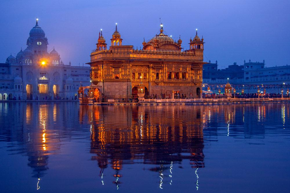 The Golden Temple, Punjab