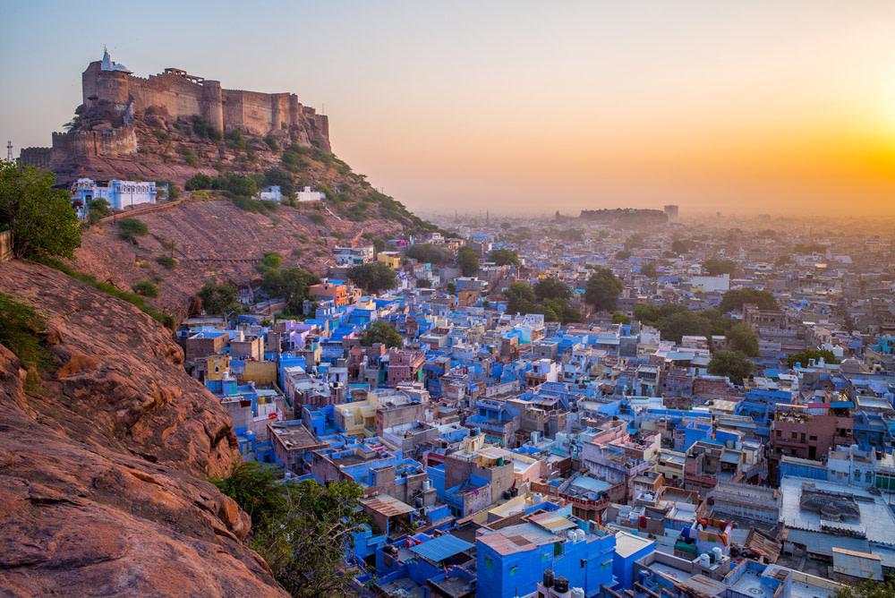 The Blue City of Jodhpur