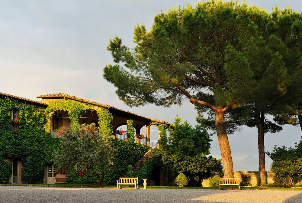 Country hotel in Chianti