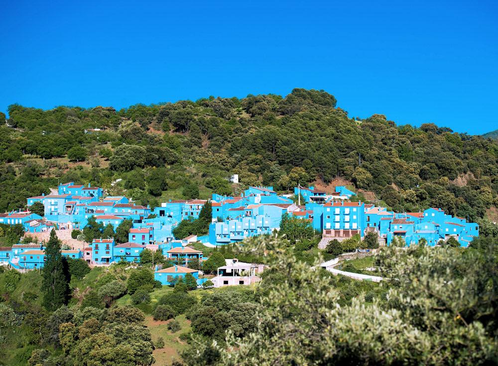 Smurf Village in Spain