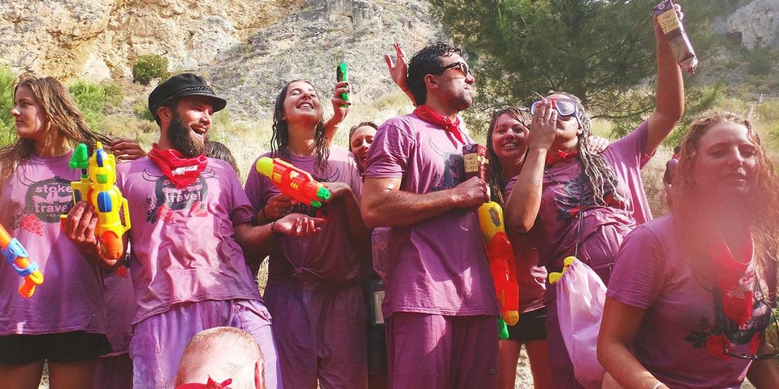 Wine fight in La Rioja