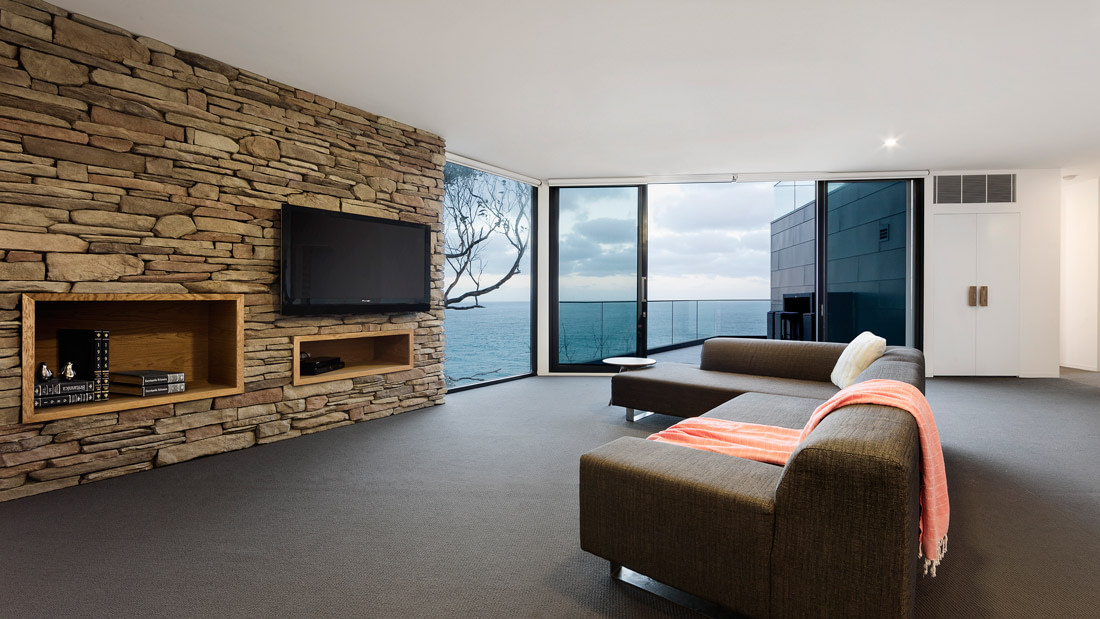 Well-designed living area