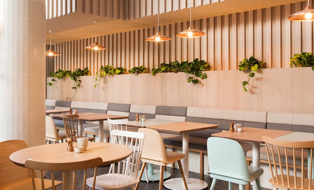 Best designed café-restaurant in Melbourne