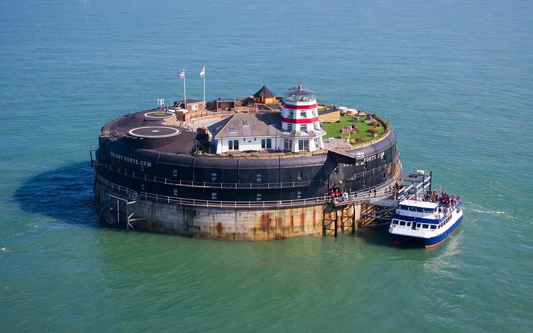 Island venue hotel in the UK