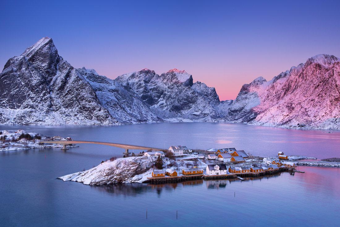 Remote village in Norway