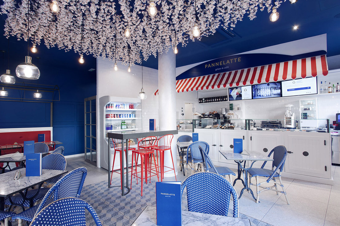 Ice cream shop in Palma