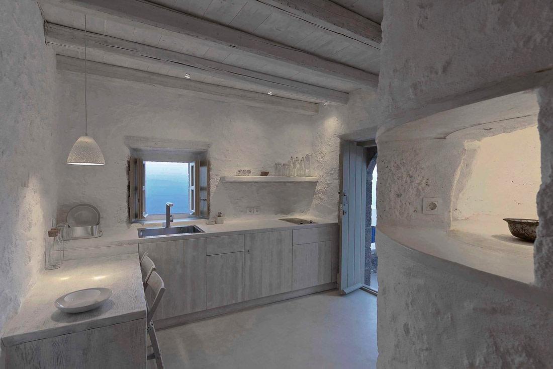 Rustic Greek kitchen