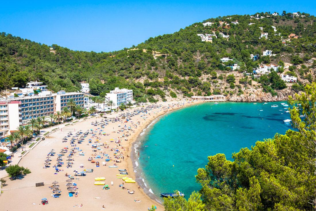 Cala Sant Vicent, Ibiza