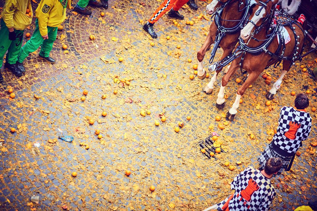 Battle of the Oranges, Ivrea