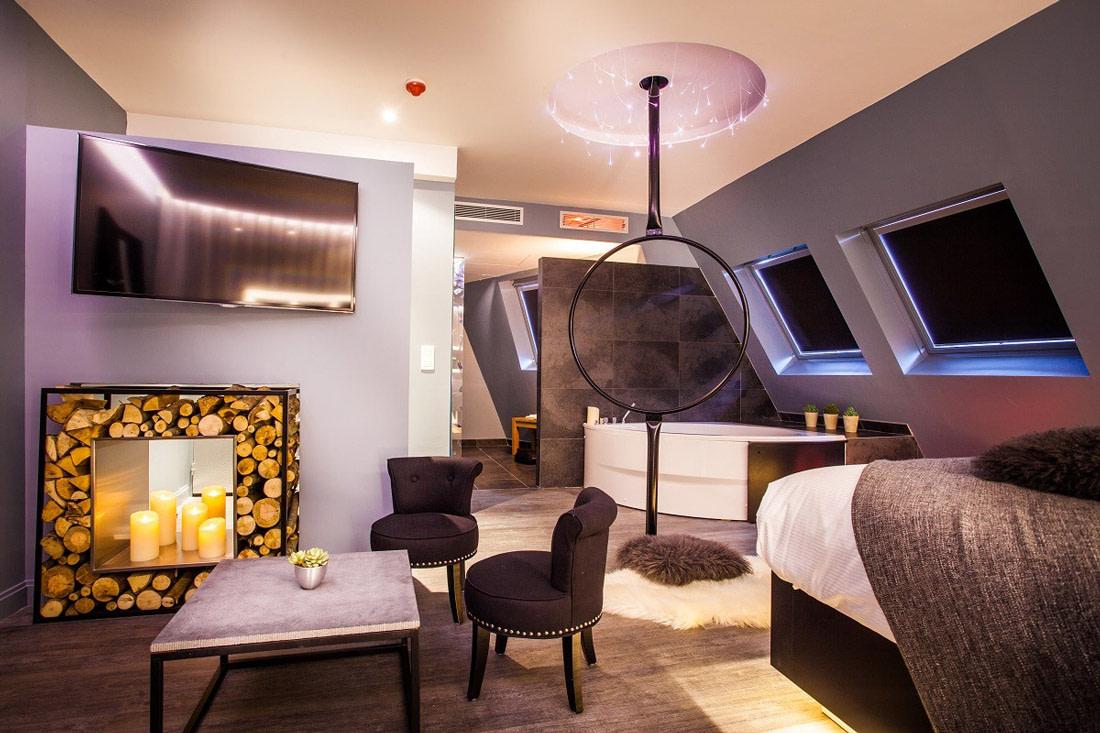 Bedroom with dreamcatcher