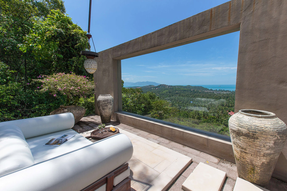 Spectacular terrace with panoramic views