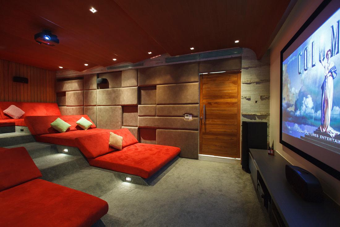 Modern home cinema