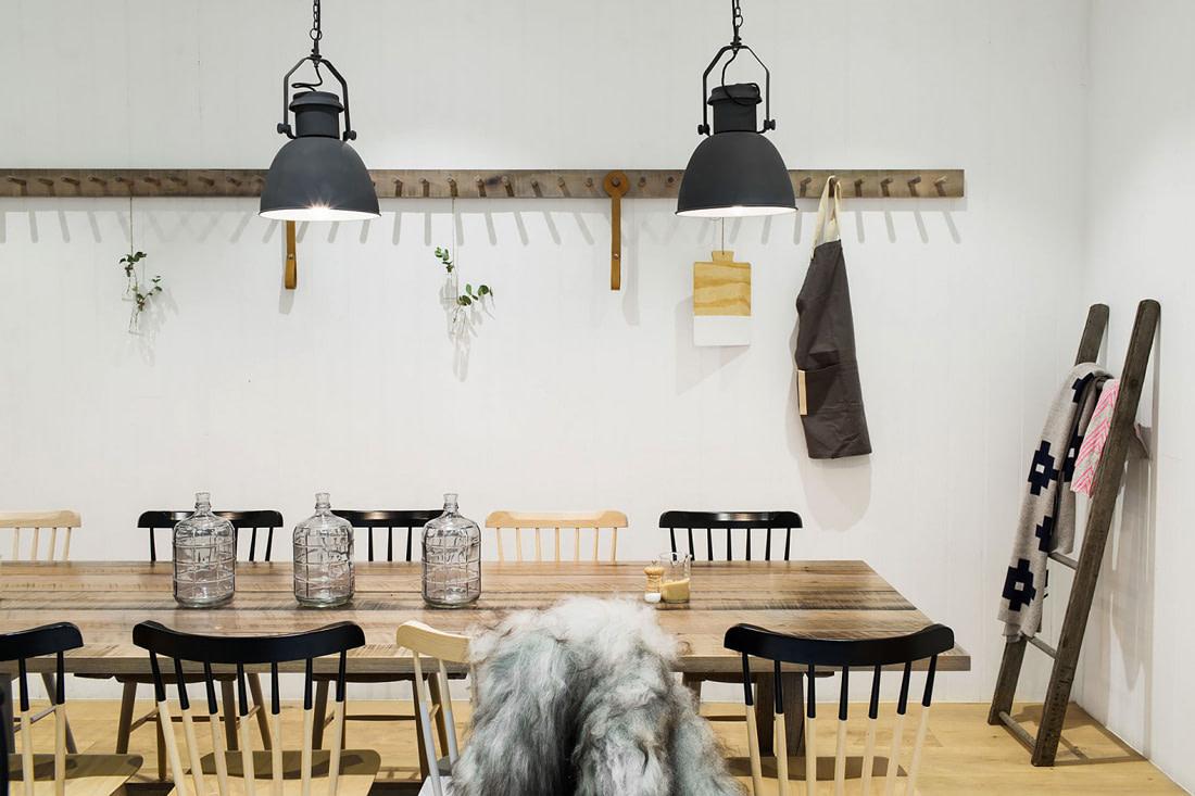 Scandinavian inspired café