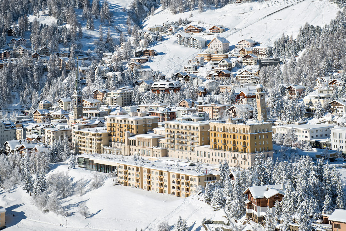 Most beautiful ski resort in Switzerland