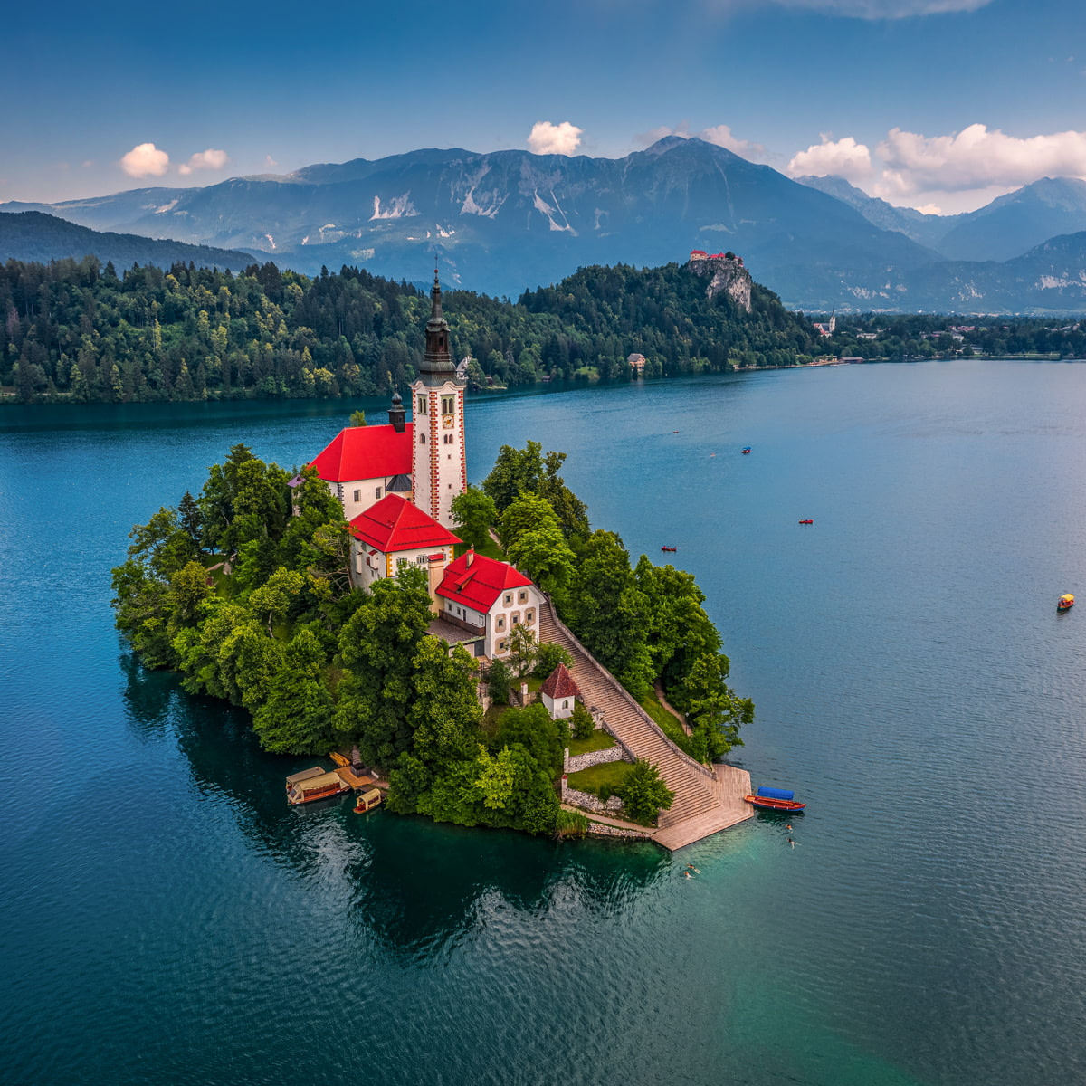 Church on Lake Bled