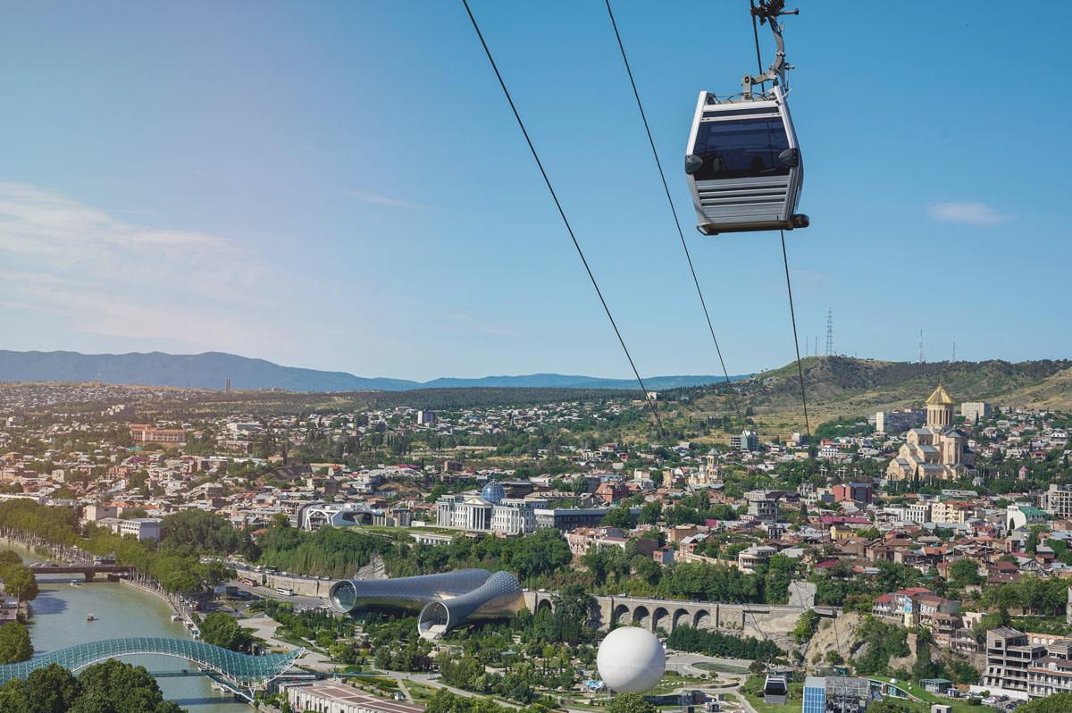 Transport in Tbilisi, Georgia