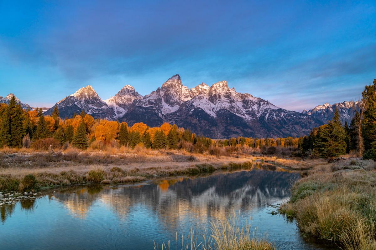 Morning in Grand Teton