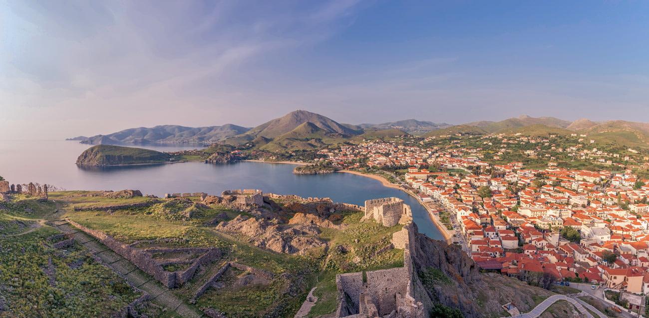 Village on Lemnos Island