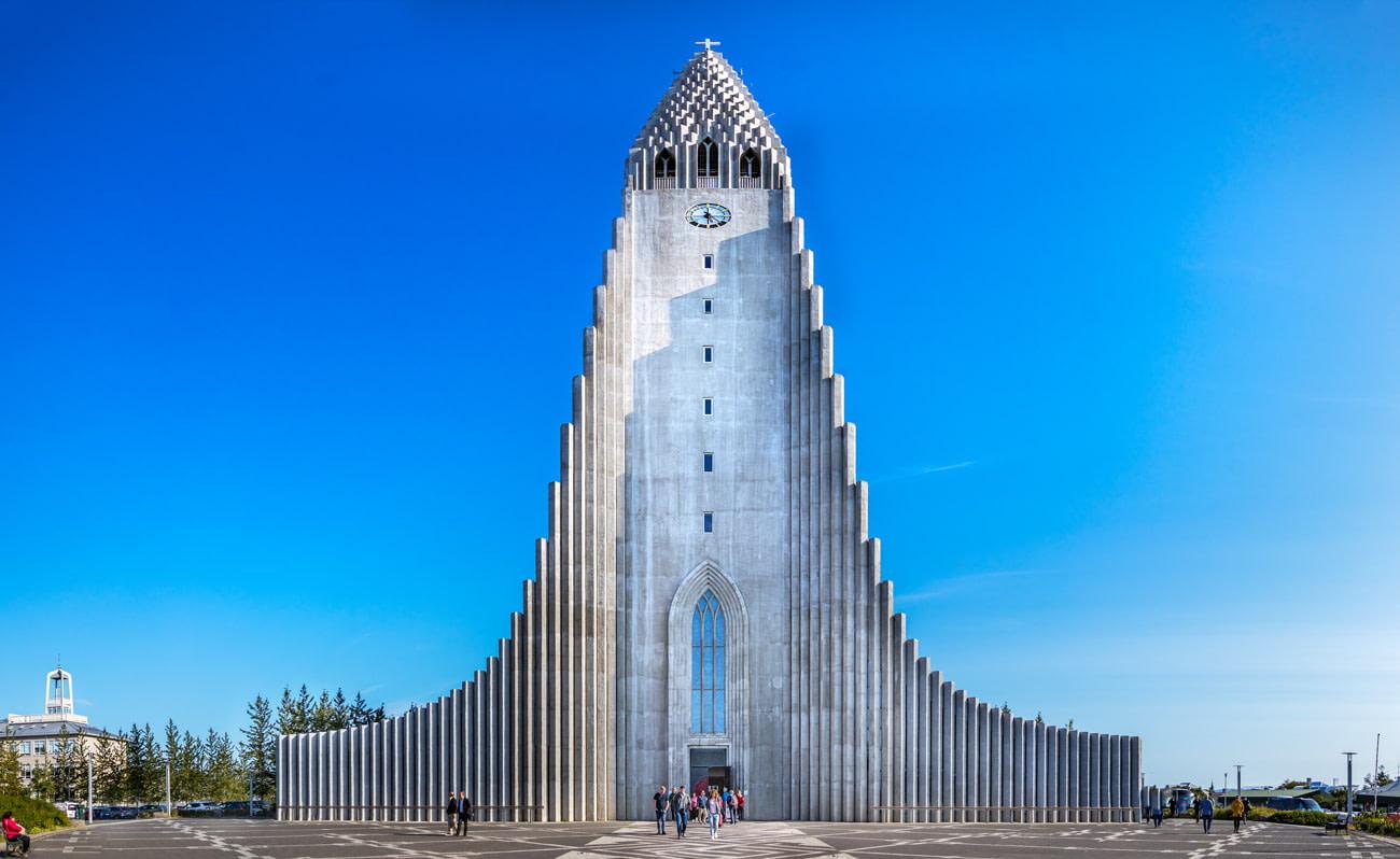 Church designed by Guðjón Samúelsson