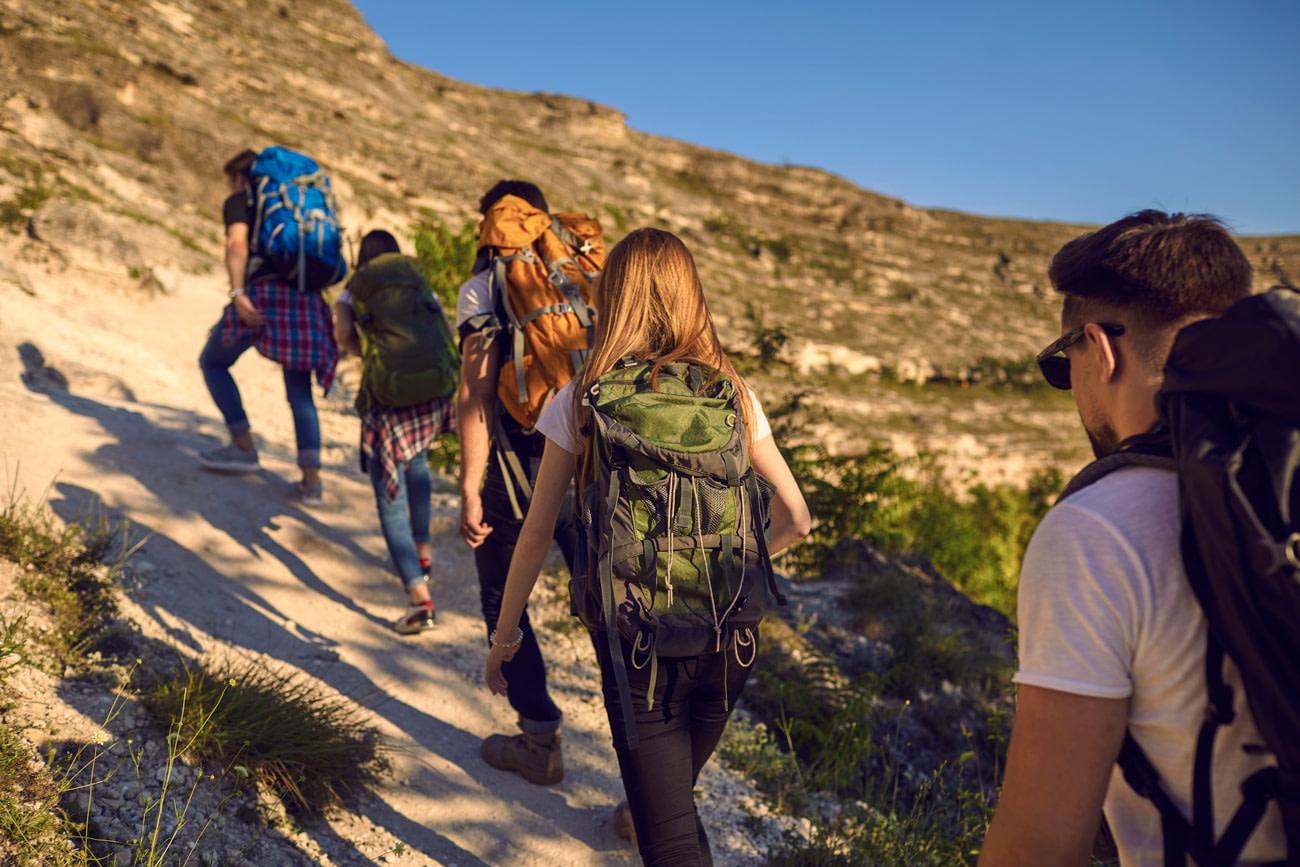 Hiking trail etiquette