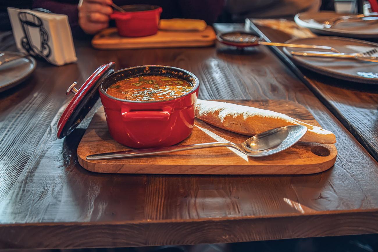 Delicious kharcho soup