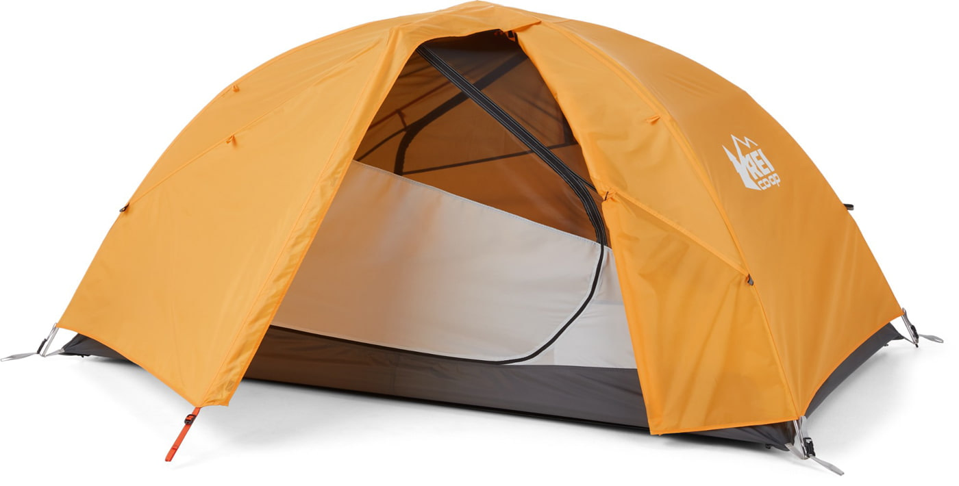 Dome-shaped tent