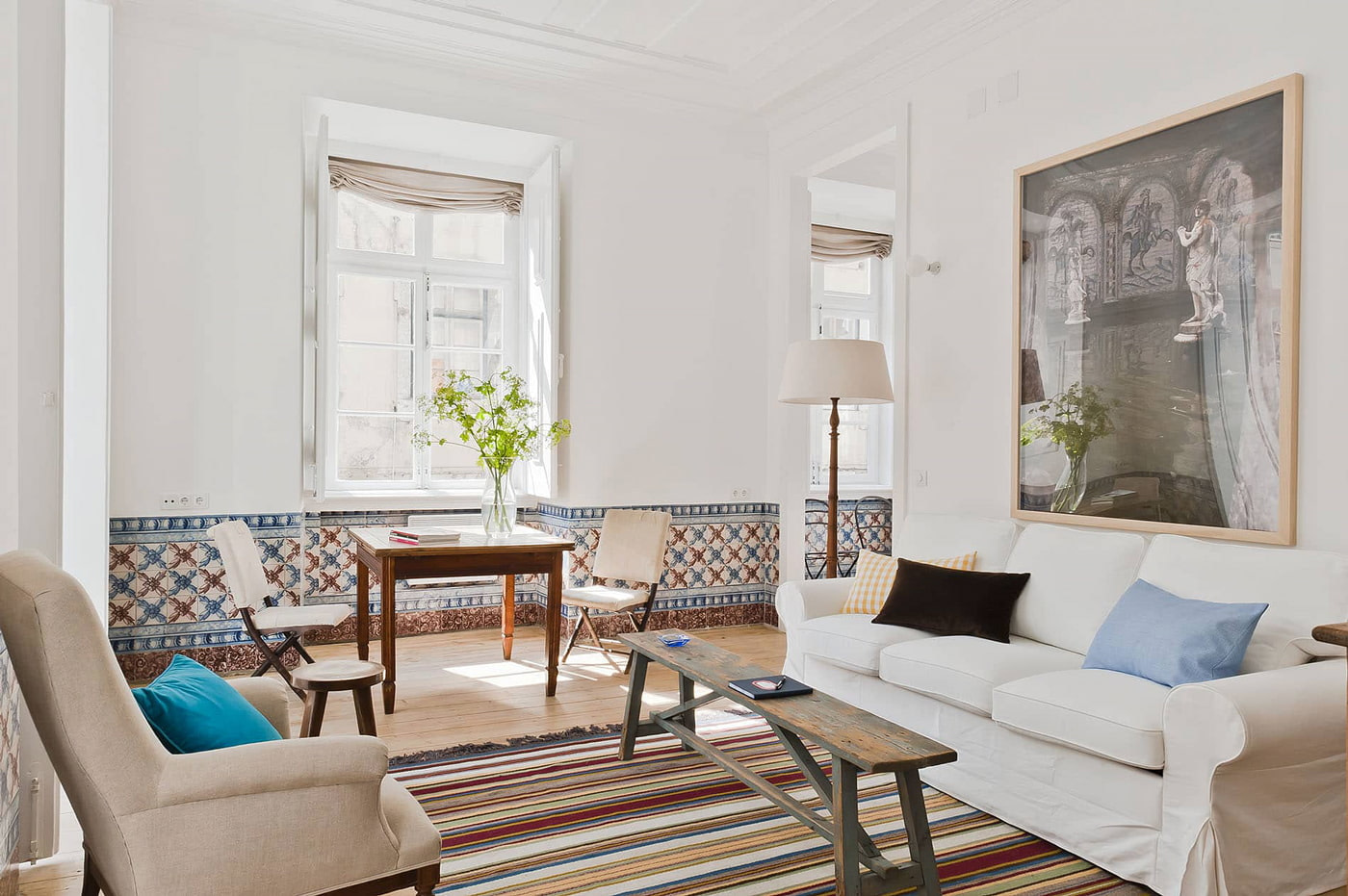 Apartment rental in Baixa