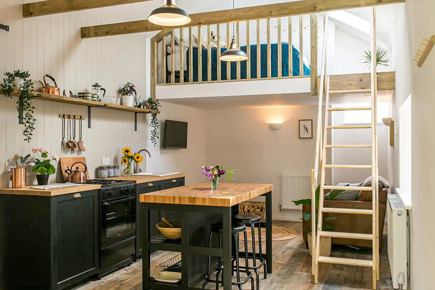 Converted dairy shed in Cornwall