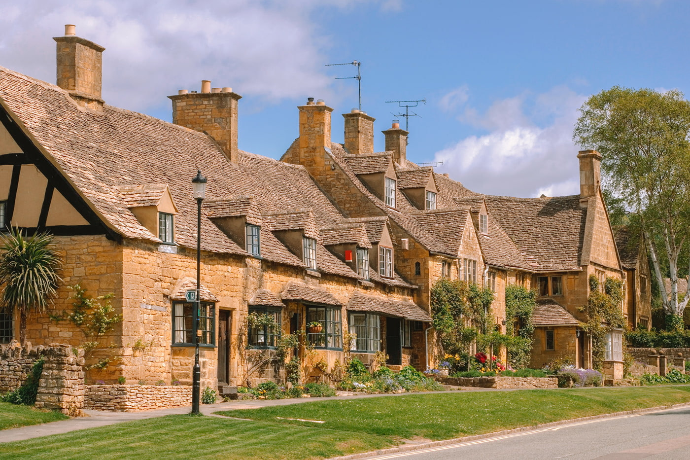 Charming village in the Cotswolds