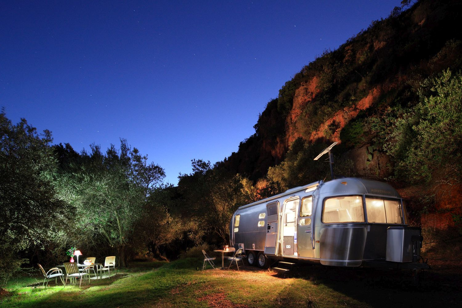 Airstream in Andalusia