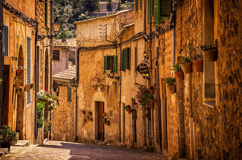 Street in Valldemossa