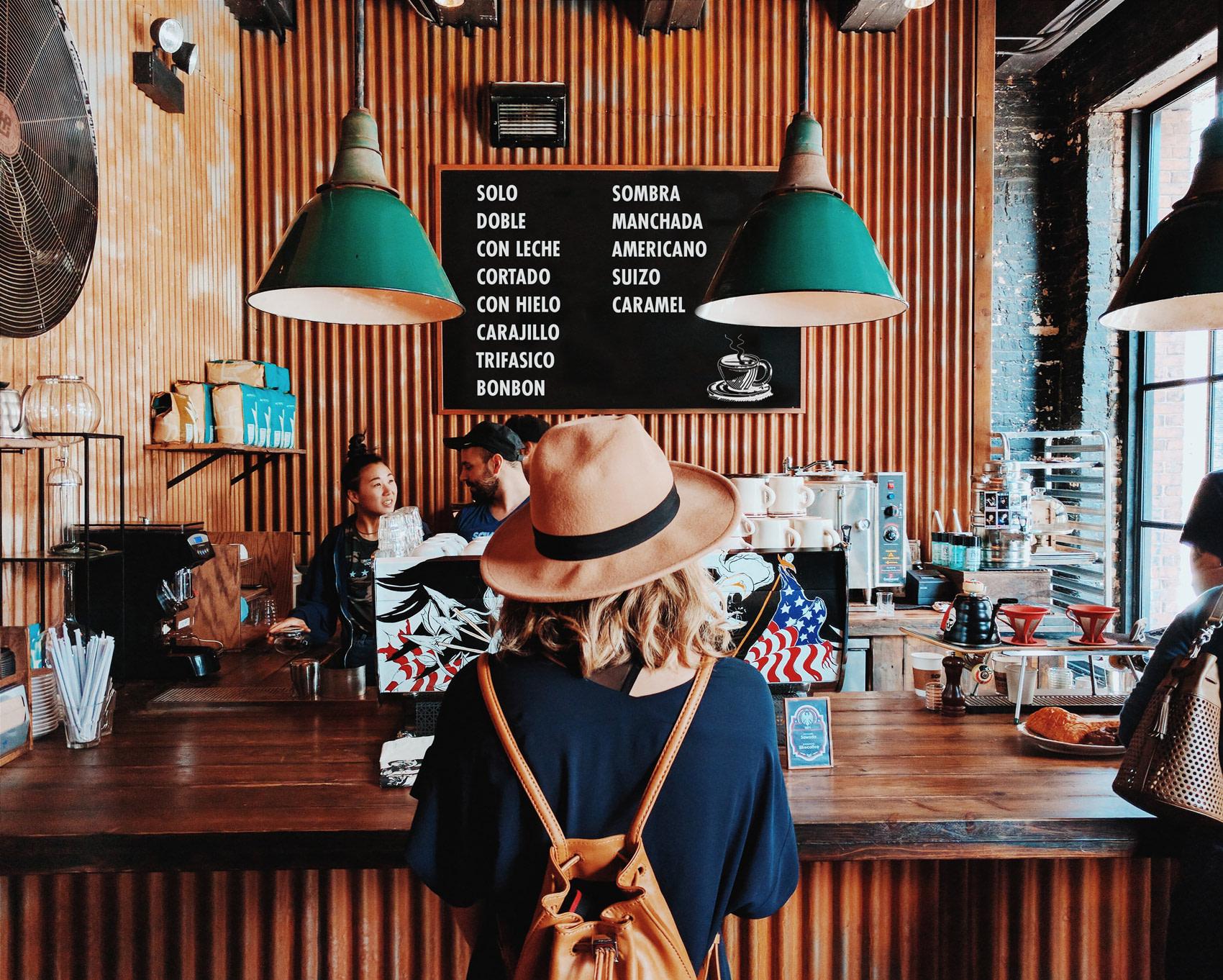 Coffee experience in Spain