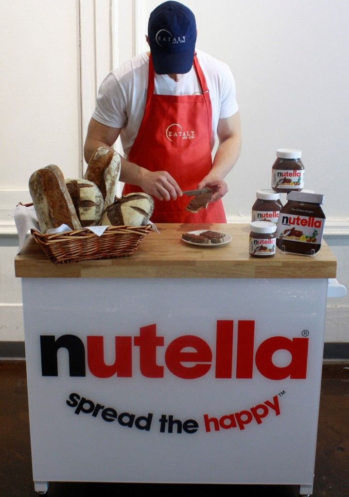Nutella Mobile Shop