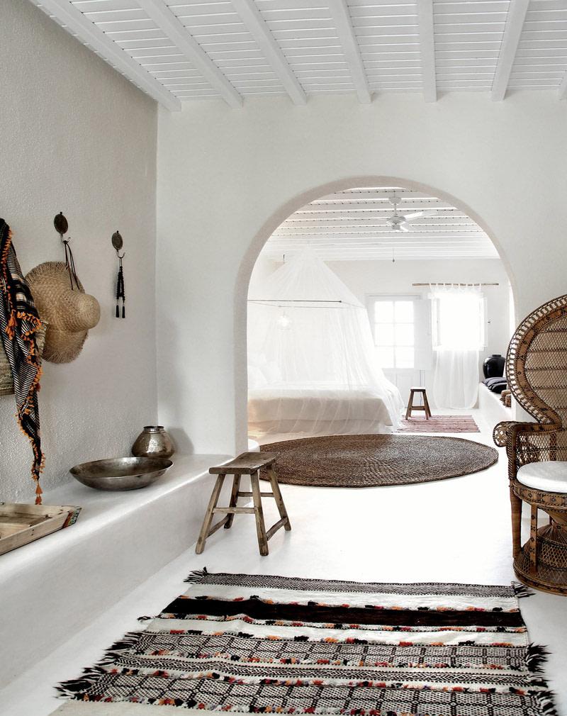 Boho retreat in Mykonos