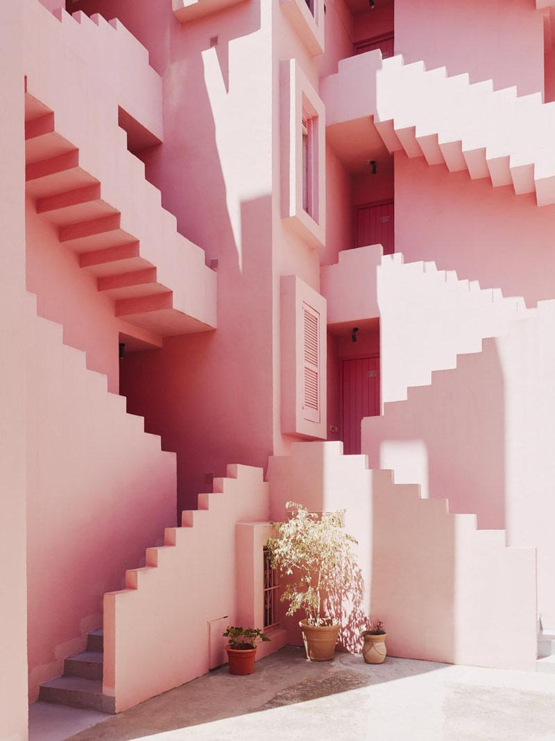 La Muralla Roja, Calpe