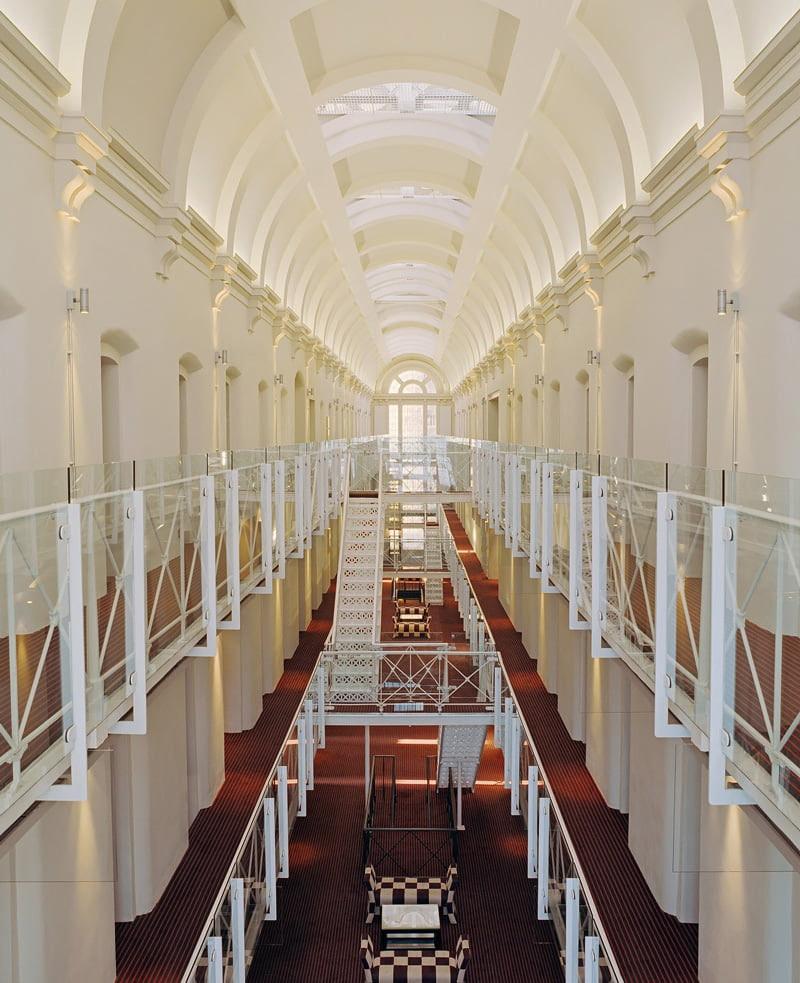Former prison turned hotel