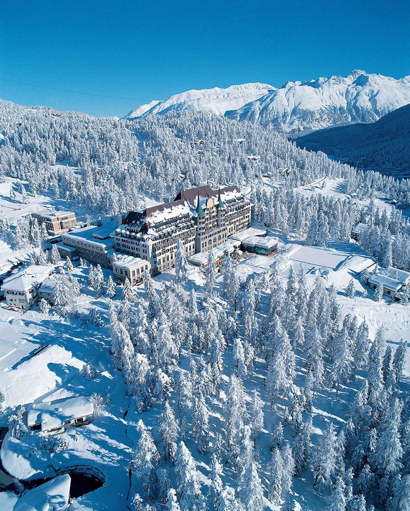 Belle Époque palace in St. Moritz