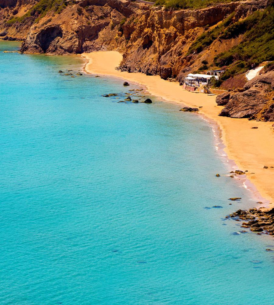 Aguas Blancas beach, Ibiza