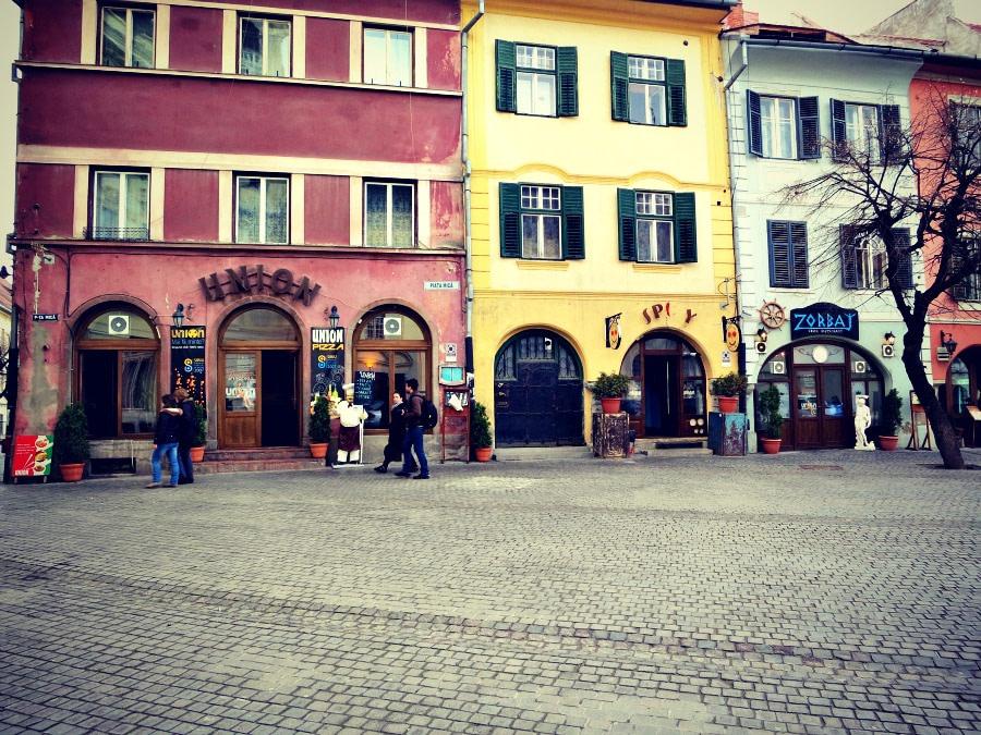 Small Square, Sibiu