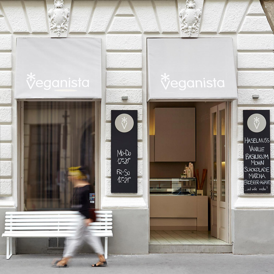 Vegan ice cream shop in Vienna