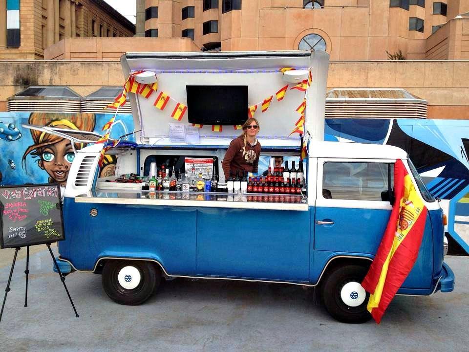 Kombi Van Turned Bar